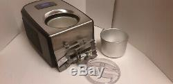 Cuisinart Stainless Commercial Quality Ice Cream And Gelato Maker Ice 100