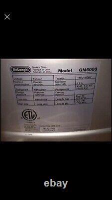 Delonghi GM6000 Gelato Ice Cream Maker Machine Grey