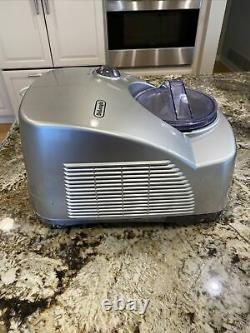 Delonghi GM6000 Gelato Ice Cream Maker Machine, Pre-owned, Works Perfectly