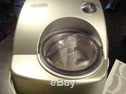 Delonghi Gelato Machine GM6000 Self-Refrigerating Compressor Gently Used