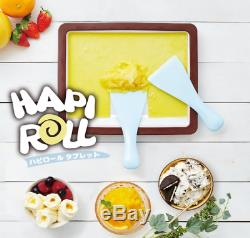 Doshisya Hapi Roll Ice Cream Sherbet Maker Cooking Japan HAPI roll