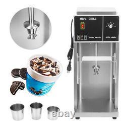 Electric Auto Ice Cream Machine Blizzard Maker Shaker Blender Commercial Mixer