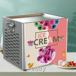 Electric Fry Pan Ice Cream Fried Yogurt Ice Cream Roll Machine Maker Home 180W