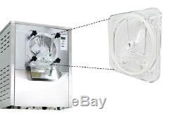 Electric Hard Ice Cream Macking Machine Ice Cream Maker LED Display 110V 1400W