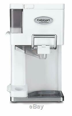 Electric Ice Cream Maker Soft Serve Frozen Yogurt Machine 1-1/2-Quart White New