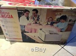 Gaggia Electric Ice Cream Maker Model Gelatiera Made in Italy 120V with a kit