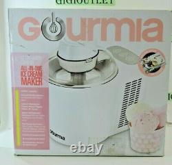 Gourmia All-in-One Ice Cream Maker 1.5Pint Capacity FREE SHIPPING