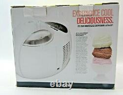 Gourmia All-in-One Ice Cream Maker PRO- 2.1Pint Capacity FREE SHIPPING