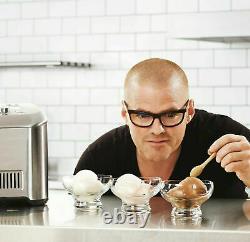 Heston Blumenthal Sage Pro Ice Cream Maker Gelato Sorbet Frozen Yoghurt Bci600uk