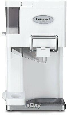 Home Kitchen Counter Appliance Soft Serve Ice Cream Maker Yogurt Sorbet Machine