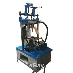 Ice Cream Cone Machine Electric Double Cones Maker 110V Commercial Automatic