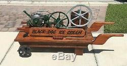 Ice Cream Maker Antique Maytag Hit Miss Engine Restored with Amazing Detail