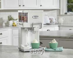 Ice Cream Maker Machine Soft Serve Automatic Countertop Yogurt Sherbet Freezer