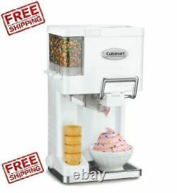 Ice Cream Maker Soft Serve Countertop Machine Electric Frozen Yougurt Kitchen