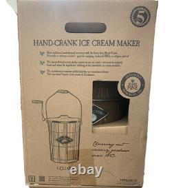 Ice Cream Maker White Mountain Hand Cranked Appalachian Series Wooden Bucket
