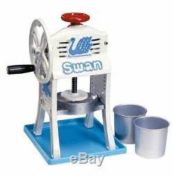 Ikenaga Iron Swan Mini Manual Ice Shaving Machine Small Antarctic Cast Kakigori