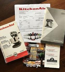 KitchenAid Pro HD Bowl-Lift Stand Mixer 475 Watt Red 5-QT & NEW Ice Cream Maker