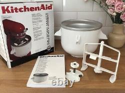 Kitchenaid Ice Cream Maker. Brand New in Box. All Accessories