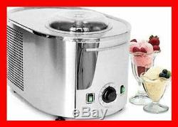 Lello 4080 Musso Lussino 1.5 Quart Ice Cream Maker Stainless SILVER Kitchen