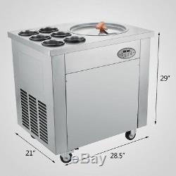 Local Pickup Temperature Control Fried Ice Cream Machine Roll Ice Cream Maker