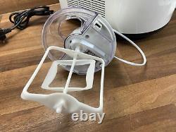 MAGIMIX GELATO CHEF 2200 Ice Cream Sorbet Maker Self built-in freezer White