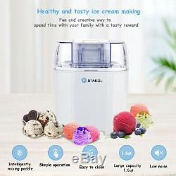 Maquina Para Hacer Helados Sorbetes y Yogur Helado De Caseros Ice Cream Heladera