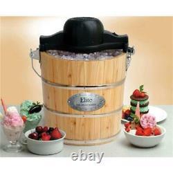 Maximatic EIM-502 Qt Old Fashioned Ice Cream Maker