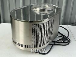 Musso Lello Model L1 4080 110/120V Stainless Steel 1.5qt Ice Cream Dessert Maker