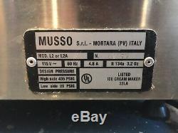 Musso Lello Pola 5030 Batch Ice Cream Maker
