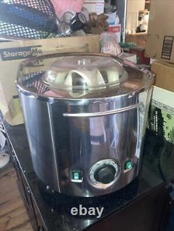 Musso Lussino Ice Cream maker machine # 4080 1.5 Quarts