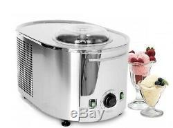Musso MINI Lussino Italian Sorbet Gelato Ice Cream Maker Machine 1.5Kh 110V