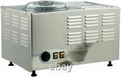 Musso POLA Ice Cream maker machine # 5030 2.0 Quarts DENT IN BOWL