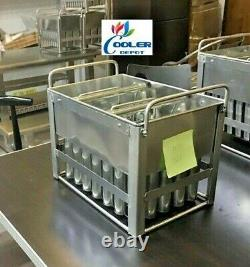 NEW 35 Popsicle Mold Popsicle Ice Cream machine maker Popsicle freezer case MO5