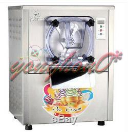 NEW Commercial Hard Ice Cream Machine 20L/h Stainless Steel Ice Cream Maker 220V