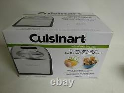New Cuisinart Compressor Ice Cream & Gelato Maker ICE-100