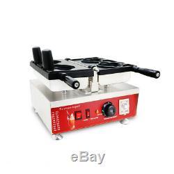 Nonstick Electric Ice Cream Cone Taiyaki Bear Maker Machine 110V eezglobal