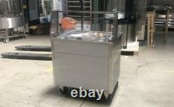 One Pans Thai Fried Ice Cream Machine, Ice Cream Roll Maker with 5 Boxes
