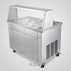 PickupTemperature Control Fried Ice Cream Machine Roll Ice Cream Maker Defrost