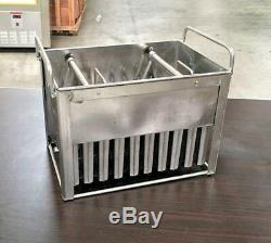 Popsicle Mold Making Popsicle POP MACHINE MAKER Ice Cream Freezer Case Mould MO3