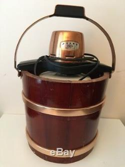 Proctor SilexElectric Ice Cream Maker Model# 2267 Vintage (working) With VTG