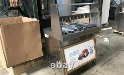 R410a, 14inch two pan Thai fried ice cream machine, fry ice cream roll maker