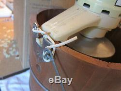 Rival White Mountain 6 Quart Electric Ice Cream Freezer Maker F69206 Made in USA