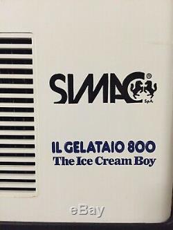 SIMAC Il Gelataio 800 The Ice Cream Boy ice cream maker