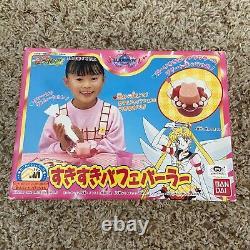 Sailor Moon Vintage 1996 Parfait Ice Cream Maker Cup And Mold Playset Bandai