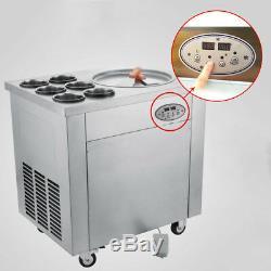 Self pick up Temperature Control Fried Ice Cream Machine Roll Ice Cream Maker