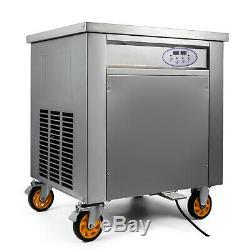 Smart Fried Ice Cream Machine Roll Maker Ice Cream Maker 304 Stainless Steel