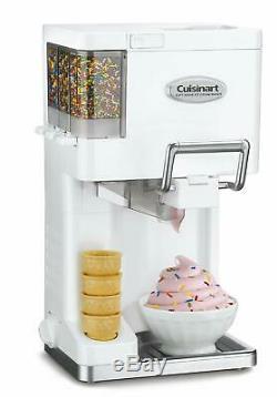 Soft Serve Ice Cream Machines Yogurt Maker 1.5 qt Electric Automatic Sherbet