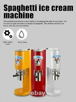 Spaghetti Ice cream machine Small Ice cream maker