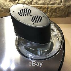 Sunpentown SPT Ice Cream Maker 1.5 quart Stainless Model KI-15 Kitchen Appliance