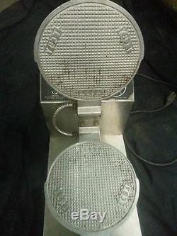 TCBY Waffle Cone Maker Iron Machine for Gelato and Ice Cream